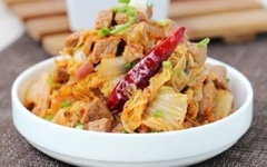 Thịt Bò Xào Kim Chi