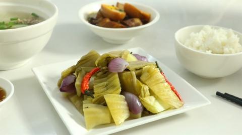 Dưa cải muối chua