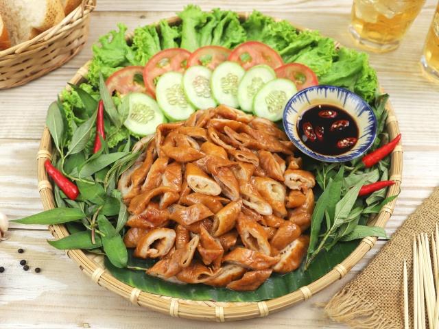 Ruột Heo Khìa Nước Dừa